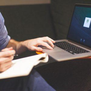 Copywriting training, writing, keyboard